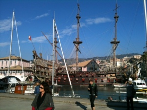 "Genoa's ""Porto Antico"""