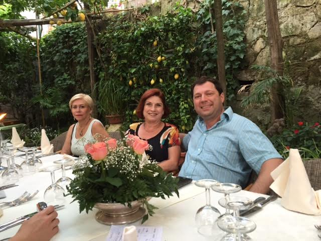 Sentieri group travel to Amalfi, Italy in 2016