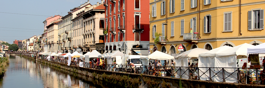 The Navigli Neighborhood of Milan